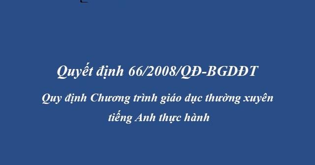 quyet-dinh-66-2008-qd-bgddt