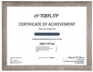 NHỮNG THÔNG TIN CẦN BIẾT VỀ TOEFL ITP – TÀI LIỆU LUYỆN THI TOEFL ITP® Practice Tests
